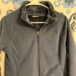 Women's The North Face lined fleece jacket